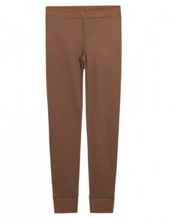 Hust and Claire - Laso Leggings Ull/Bambus, Cognac