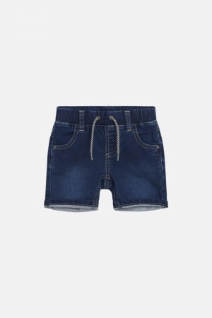 Hust and Claire - Jes bermuda shorts, denim blue