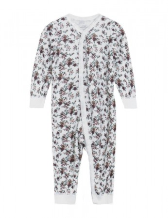 Hust and Claire - Malai Heldress Ull/Bambus m/ blomsterprint