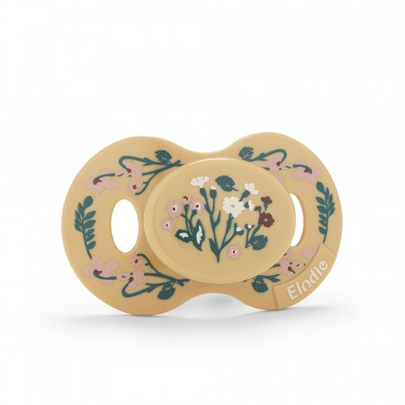 Elodie - pacifier golden vintage flower